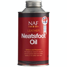 NAF Leather Neatsfoot Oil 500ml Leathercare - Clear
