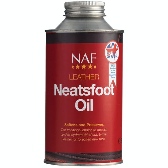 NAF Leather Neatsfoot Oil 500ml Leathercare