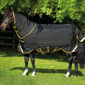 Rambo Supreme Lite 0G Turnout Rug - Black