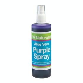 NAF Aloe Vera Purple Spray 240ml Horse First Aid - Purple