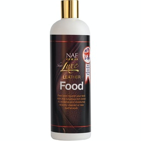 Cura della Pelle NAF Sheer Luxe Leather Food 500ml - Clear