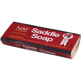 NAF Leather Saddle Soap Leathercare - Clear