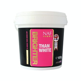 NAF Brighter Than White 600g Coat Care - White
