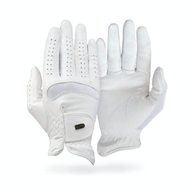 Competition Glove Tredstep Dressage Pro - White