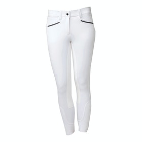 Riding Breeches Femme Horseware Ladies Woven Competition - White