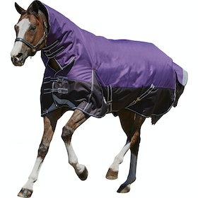 Weatherbeeta ComFiTec Plus Dynamic Medium Lite Combo Turnout Rug - Purple Black