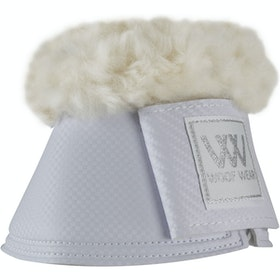 Woof Wear Pro Sheepskin Over Reach Boots - White