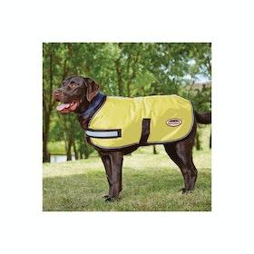 Weatherbeeta Reflective Parka 300D Dog Jacket - Yellow