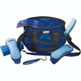 Roma Deluxe Soft Touch Carry Putz-Zubehör - Blue