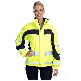Equisafety Childs Winter Aspey Childrens Reflective Jacket - Yellow