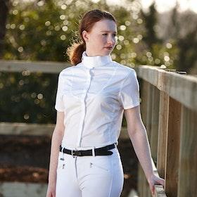 Dublin Windsor Ladies Ladies Competition Shirt - White