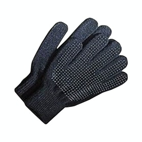 Dublin Pimple Grip Kids Riding Gloves - Black