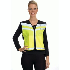 Equisafety Plain Air Reflective Waistcoat - Yellow