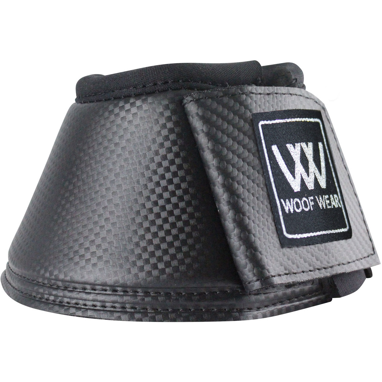 Woof Wear Club Unisex Horse Boot Over Reach Boots Black All Sizes