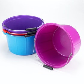 Lincoln Mould Flex Feed Bucket - Purple