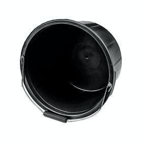Lincoln Feed Bucket - Black