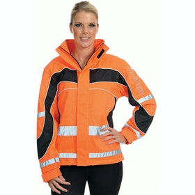 Equisafety Childs Winter Aspey Childrens Reflective Jacket - Orange