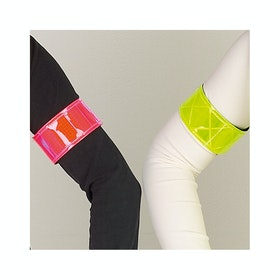 Hy Viz Elasticated Arm / Leg Reflective Band - Pink