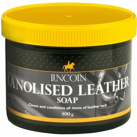 Lincoln Lanolised Soap Leathercare - Natural