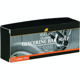 Lincoln Classic Glycerine Soap Bar Leathercare - Clear