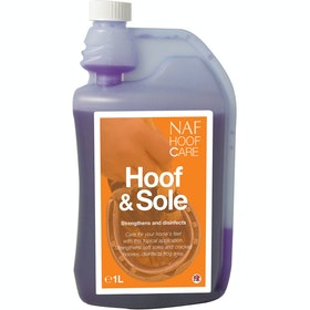 NAF Hoof and Sole 1L Hoof Care - Purple