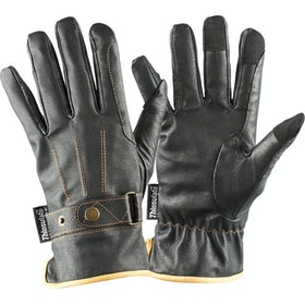 Dublin Leather Thinsulate Winter Gloves - Black