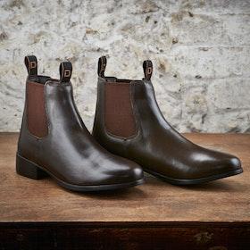 Dublin Foundation Kids Jodhpur Boots - Brown