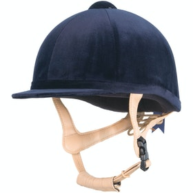 Champion Grand Prix Velvet Hat - Navy