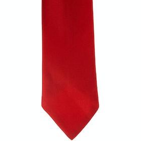 Showquest Plain Tie - Red