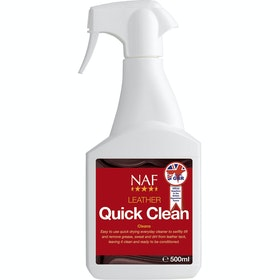 NAF Leather Quick Clean 500ml Leathercare - Clear
