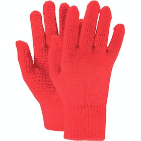 Everyday Riding Glove Dublin Adults Pimple Grip - Red