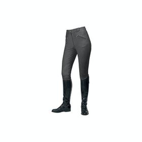Mark Todd Gisborne Ladies Riding Breeches - Charcoal