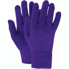 Dublin Adults Pimple Grip Gloves - Dark Purple