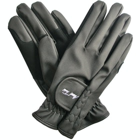 Mark Todd Synthetic Everyday Riding Glove - Black