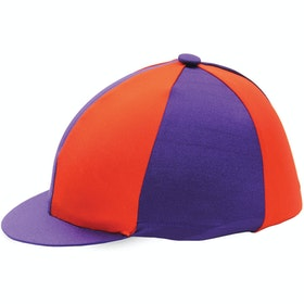 Hy Two Tone Lycra Hat Cover - Purple Red
