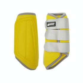 Roma Reflective Brushing Boot - Yellow