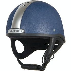 Champion Ventair Deluxe Riding Skull - Navy