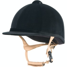 Champion Grand Prix Velvet Hat - Black