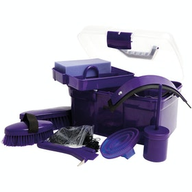 Roma Ultimate 10 Piece Grooming Kit - Purple