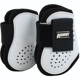 Roma Vented Fetlock Boots - White