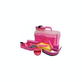 Roma Ultimate 10 Piece Grooming Kit - Pink