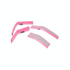 Roma Reflective Bridle Kit - Pink