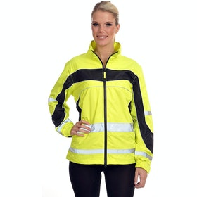 Equisafety Lightweight Aspey Reflective Jacket - Yellow