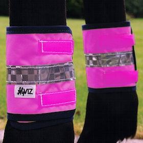 Hy Viz Leg Reflektierendes Band - Pink Black