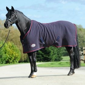 Weatherbeeta Waffle Standard Neck Cooler Rug - Navy Red White