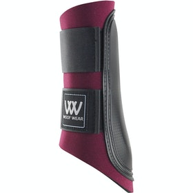 Woof Wear Club Brushing Boot - Burgundy Black