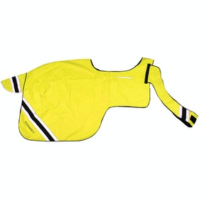 Equisafety Winter WrapAround Reflective Exercise Sheet - Yellow