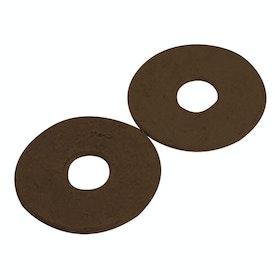 Korsteel Rubber Bit Guards Bit Accessory - Brown