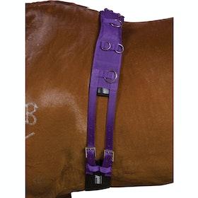 Kincade Deluxe Equigrip Lungiergurt - Purple