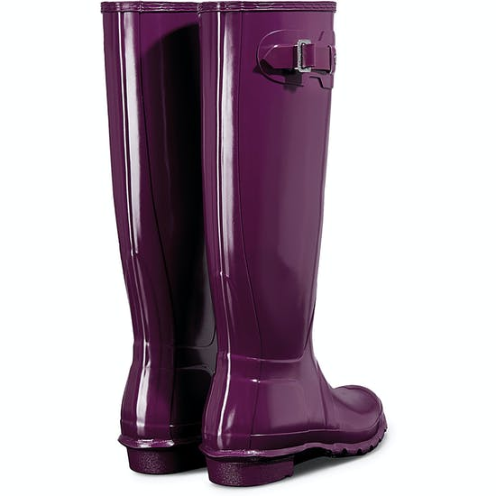 Hunter Original Tall Gloss Ladies Wellingtons